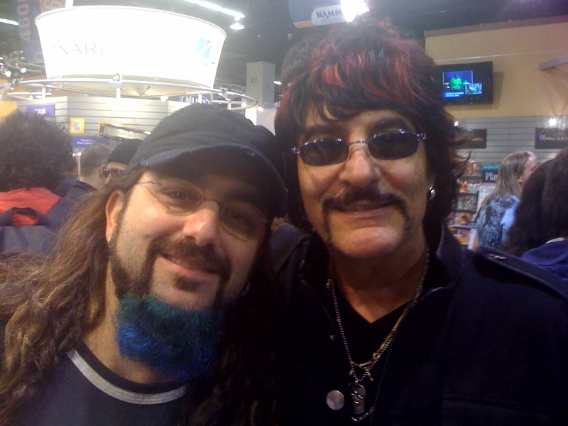 Mike Portnoy and Carmine Appice