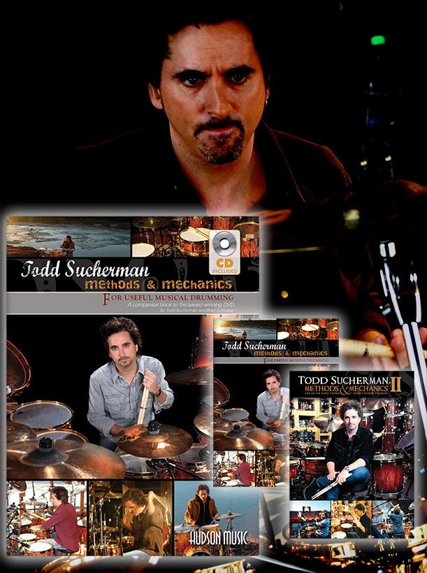 Todd Sucherman Combo Pack (Shipped)
